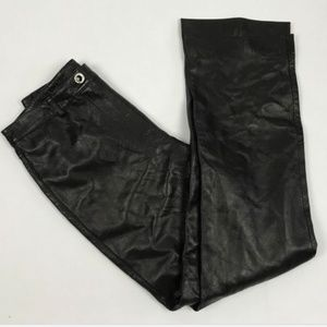 St. John Couture Pants - St. John Couture NWD Black Leather Pants